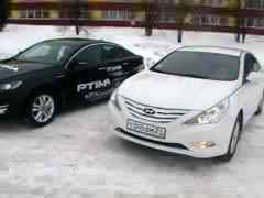 Kia Optima III vs Hyundai Sonata VI (music video)